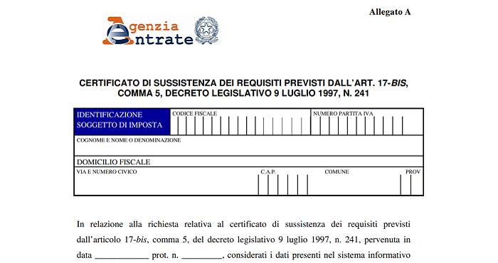 appalti certificato agenzia entrate cartelle esattoriali verifica indempimenti - trsconsulting