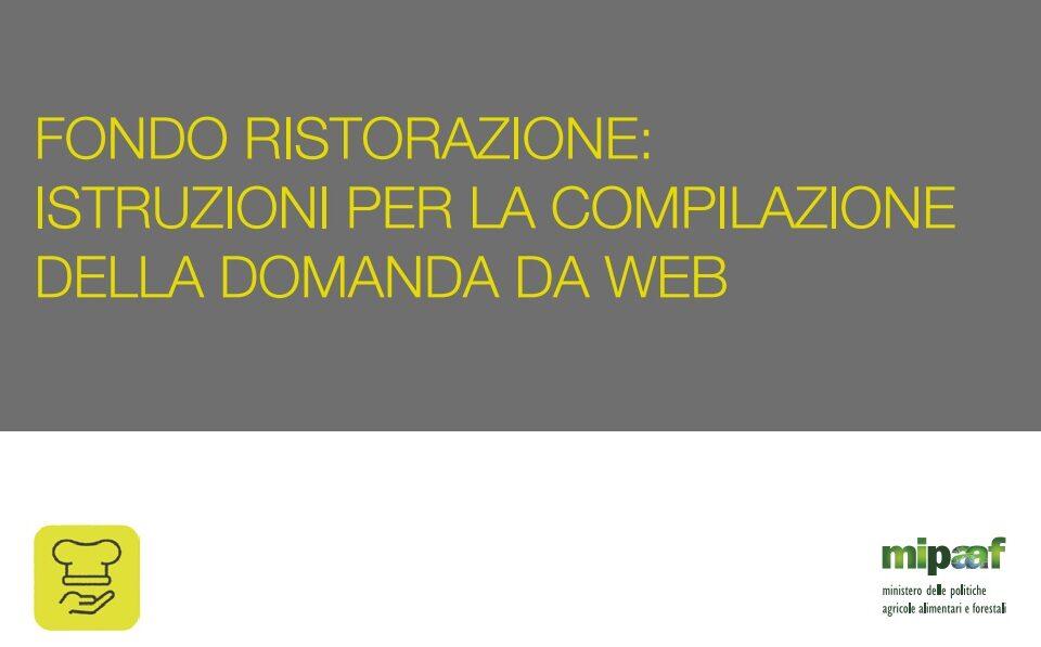 portale ristorazione guida domanda online - trsconsulting